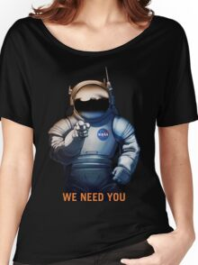 Nasa - A Journey To Mars Women's Relaxed Fit T-Shirt