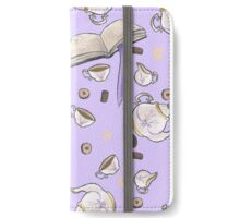 Tea and Biscuits Repeat iPhone Wallet/Case/Skin