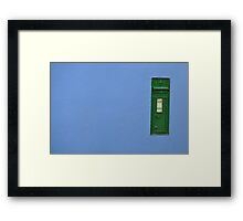 The old Postbox  Framed Print