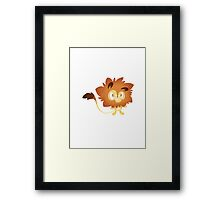 Lionfluffle Framed Print