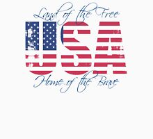 USA Patriotic Womens Fitted T-Shirt