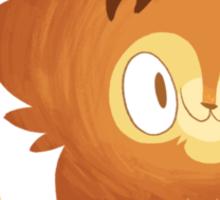 Lionfluffle Sticker
