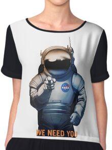 Nasa - A Journey To Mars Chiffon Top