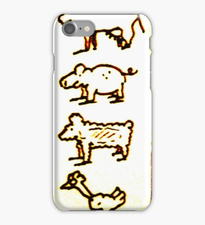 Friendly things iPhone Case/Skin