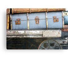Railway Suitcase Canvas Print