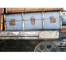 Railway Suitcase Photographic Print