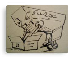 FUDGE Metal Print