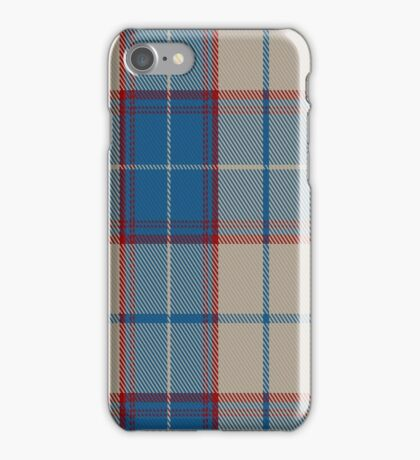 01368 Canna Saphire Fashion Tartan iPhone Case/Skin