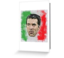 Buffon Greeting Card