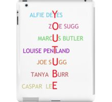 British Youtubers iPad Case/Skin