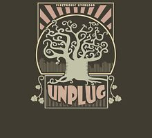 Electronic Overload - UNPLUG Womens Fitted T-Shirt