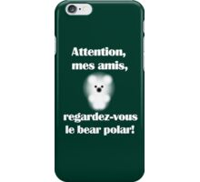 Le bear polar iPhone Case/Skin