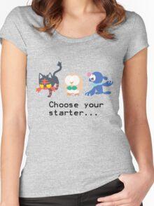 7th Gen Starters Women's Fitted Scoop T-Shirt