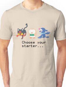 7th Gen Starters Unisex T-Shirt