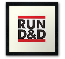 run dungeons and dragon Framed Print