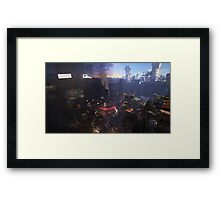 13 Hours of Diamond City Framed Print