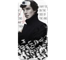 Side of the Angels iPhone Case/Skin