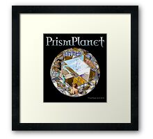 Crystal Planet Framed Print