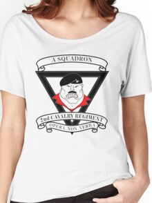 A Squadron 2nd Cavalry Regiment Women's Relaxed Fit T-Shirt