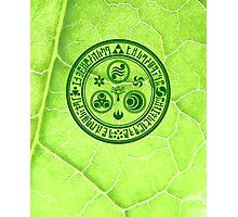 Hero's Mark (Dark Green) Photographic Print