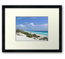 Walk on the Beach Framed Print