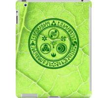 Hero's Mark (Dark Green) iPad Case/Skin