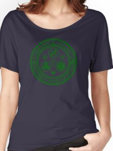 Hero's Mark (Dark Green) Women's Relaxed Fit T-Shirt