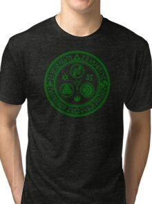 Hero's Mark (Dark Green) Tri-blend T-Shirt