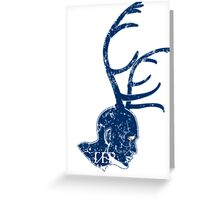 Lecter is coming Greeting Card
