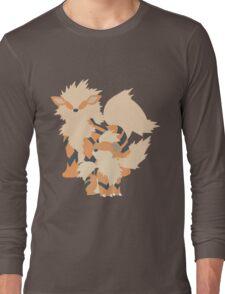 Growlithe Evolution Long Sleeve T-Shirt