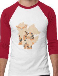 Growlithe Evolution Men's Baseball ¾ T-Shirt