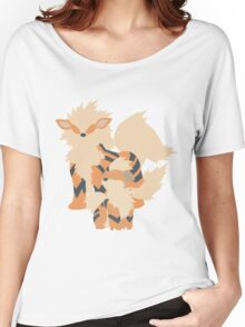 Growlithe Evolution Women's Relaxed Fit T-Shirt