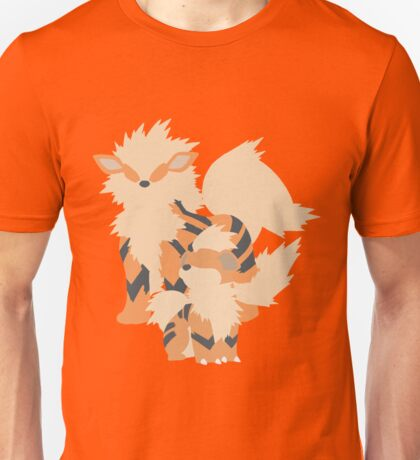 Growlithe Evolution Unisex T-Shirt