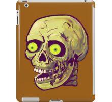 decaying zombie iPad Case/Skin