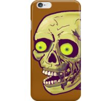 decaying zombie iPhone Case/Skin