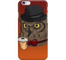 Gentleman Owl iPhone Case/Skin