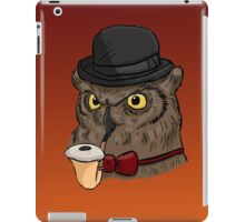 Gentleman Owl iPad Case/Skin