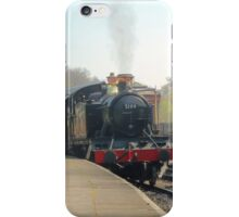 Llangollen 5199 Steam Train Leaving iPhone Case/Skin