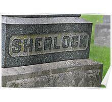 Sherlock's Grave Poster