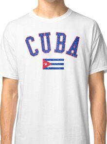 Cuba Flag Vintage Classic T-Shirt