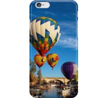 Balloons Over The Channel iPhone Case/Skin