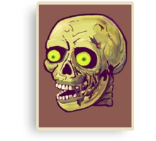 decaying zombie Canvas Print
