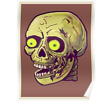 decaying zombie Poster