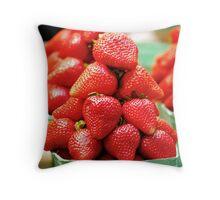Strawberry Pyramid... Throw Pillow
