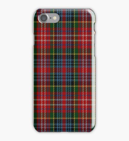 01354 Caledonia Varient Fashion Tartan  iPhone Case/Skin
