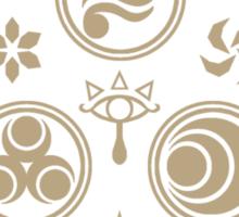 Hero's Mark (Brown) Sticker