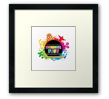 Celebrating the Spirit of Brazil Framed Print