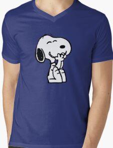 Little dog Mens V-Neck T-Shirt