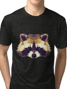 T-shirt Raccoon Tri-blend T-Shirt