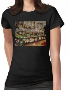 Grocery - Edward Neuman - The produce section 1905 Womens Fitted T-Shirt